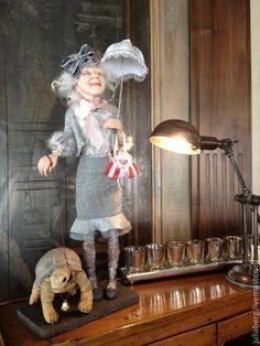 Зонтик и Черепаха - аксессуары для куклы. Лепим с нуля. - Ярмарка Мастеров - ручная работа, handmade