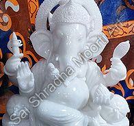 Lord Ganesh Marble Statue offered by us can increase the beauty of the interior and offer a religious feel in the room. Sai Shradha Moorti Art is best Maker, Supplier & Manufacture of Lord Ganesh Marble.  For more details click here: http://www.saishradhamoortiart.com/ganesh-god-marble-idols.html