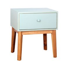 Porthos Home Cosette 2 Drawer Side Table White