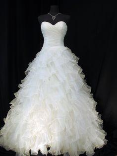 Sophia Moncelli for Kleinfeld Kollection. Beautiful wedding dress.