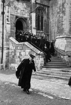 © Henri Cartier-Bresson/Magnum Photos GB. England. Berkshire. Eton. 1962. Eton College.