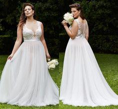 Vestido de Noiva Plus Size | Como Usar