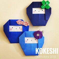 オリガミラボ origamilabo: 簡単!折り紙一枚で折るクローバー