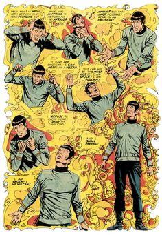 gameraboy:I am Spock! I am Vulcan! Star Trek #11 (1971)