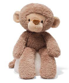 Look what I found on #zulily! Fuzzy Monkey Plush Toy by GUND #zulilyfinds