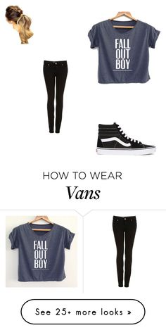 """""""Ludacris Call ya bluff"""" by mama1161 on Polyvore featuring Topshop and Vans"""