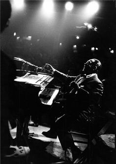 Duke Ellington by Herman Leonard