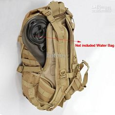 10 pcs/lot Tactical Molle Camouflage backpack shoulders Outdoor Sports Camping Hiking Bag #2222