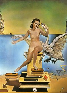 Salvador Dali Leda Atomica oil painting for sale; Select your favorite Salvador Dali Leda Atomica painting on canvas and frame at discount price. Salvador Dali Museum, Salvador Dali Paintings, Henri Matisse, Figueras, Photo D Art, Magritte, Oil Painting Reproductions, Art Moderne, Gustav Klimt