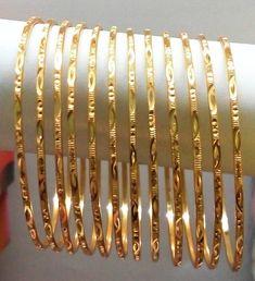 ideas indian bridal bangles gold fashion for 2019 The Bangles, Plain Gold Bangles, Bridal Bangles, Silver Bangle Bracelets, Sterling Silver Necklaces, Bracelet Set, Silver Earrings, Silver Ring, 925 Silver