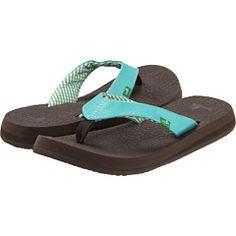 Sanuk - Yoga Mat flip flops -- Aunt Karen says the girls love these...so comfy