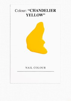 & Other Stories | Nail Colour - Chandelier Yellow.