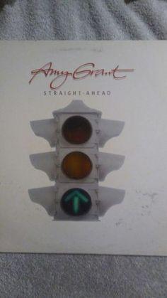 "Amy Grant Straight Ahead Vinyl 12"" Record LP Myrrh 1984 Christian Music"