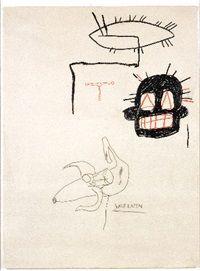 Half eaten by Jean-Michel Basquiat