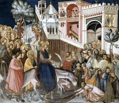 The Athenaeum - Entry of Christ into Jerusalem (Pietro Lorenzetti - )