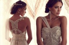 French Romance-Inspired WeddingGowns