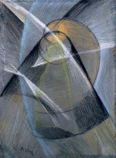 Giacomo Balla, Mercury Passes in Front of the Sun, 1914, bruikleen /loan Triton Collection Foundation