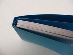 Wire-O binding / Brochure met heel verborgen Wire-O