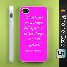 Iphone 5 Cases Marilyn Monroe Quotes 237 best iPhone, Acces...