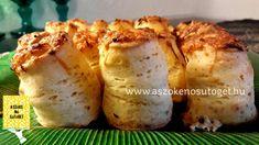 Hűtős sajtos pogácsa | A szőke Nő sütöget Apple Cake, Baked Potato, Cauliflower, Mango, Food And Drink, Potatoes, Favorite Recipes, Snacks, Baking