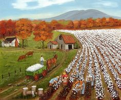 The Cotton Field ~ Arie Reinhardt Taylor