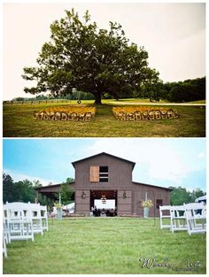 Rustic Chic Barn Wedding Venues in Georgia - Upcycled Treasures