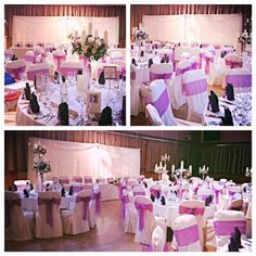 Touch of pink themed room decor