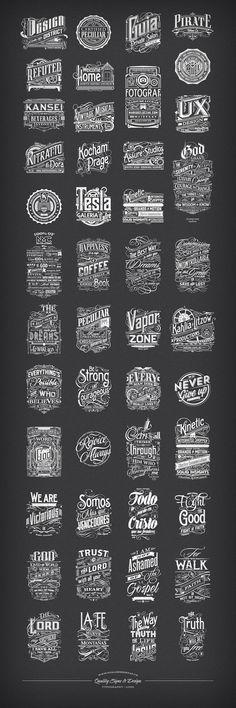 Typography | Logo  www.tomaszbiernat.us   #typography #typografia #logo #design #tomaszbiernat