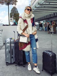 Sofie Valkiers Airport style