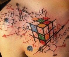 Math tattoo. I love it!