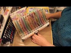 ▶ Sweet Sentiments Multi-Purpose Tray Organizer-for Mom - YouTube by Sabrina Radeck #graphic45 #organization