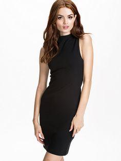 Silla Shortsleeve Dress - Selected Femme - Svart - Klänningar - Kläder - Kvinna - Nelly.com