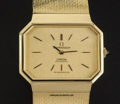 Omega 18k Yellow Gold Automatic Constellation Gents http://www.watchcentre.com/product/omega-18k-yellow-gold-automatic-constellation-gents/910