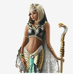 Ancient Egyptian Dress, Egyptian Goddess Costume, Egyptian Women, Cleopatra Halloween, Cleopatra Costume, Cleopatra Headdress, Egyptian Queen Tattoos, Cleopatra Makeup, Isis Goddess
