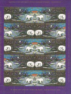 Greenlandic christmas stamp by Aka Høegh. Grønland 1980