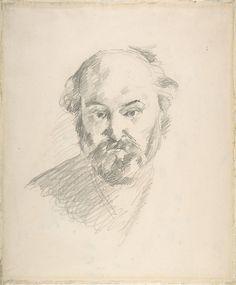 Self Portrait. Paul Cezanne