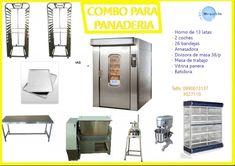 HORNOS PARA PANADERIA Y PASTELERIA MEGAFRIN Es una empresa líder en la fabricación de equipos industriales, para refrigeración, exhibición, gastronomía y afines. Cámaras frigoríficas, Congeladores, Heladeras, Vitrinas enfriadoras, cocinas industriales, freidoras, cortadoras, hornos, self Service, Mesas de Trabajo,  INFORMES:  opcionred@gmail.com skype: lmelo3426 Telfs: 0990613137 / 023027110 http://www.megafrin.amawebs.com/