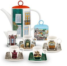ALMA DO PORTO by Beatriz Lamanna | Coffee Set