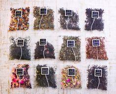 Smith Teamaker loose leaf teas in oversized sachets for the perfect steep Thé Oolong, Tea Packaging, Flower Tea, Earthship, Tea Blends, My Tea, Loose Leaf Tea, Kakao, Tea Recipes