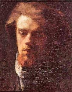 Henri Fantin-Latour, Self-Portrait, 1860, private collection