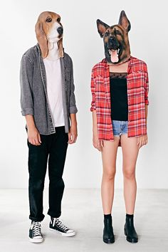 Basset Hound Mask - Urban Outfitters