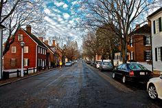 Old Salem in Winston-Salem, North Carolina