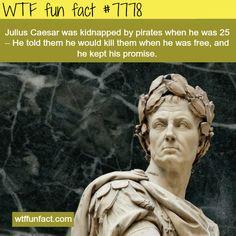 Julius Caesar - WTF fun facts
