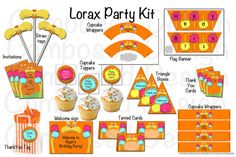 Try to not buy any materials. Use stuff around the house in true nature of The Lorax
