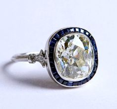 2.32ct Cushion Engagement Ring http://www.etsy.com/listing/164179947/232ct-cushion-diamond-engagement-ring-h?ref=shop_home_active