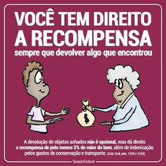 Direito a recompensa. Leis, Law And Order, Learning Games, Social Science, Knowledge, Politics, Study, Education, Marketing