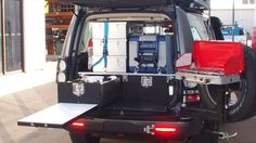 Need more storage? Outback Touring Solutions specialise in custom vehicle fitouts & drawer systems for wagons, utes and campervans. Make the most of your rear cargo space with our high quality storage drawer systems. Vw T5 Camper, Camper Trailers, Campers, Lexus Gx470, Off Road Camping, Car Storage, Storage Ideas, Diy Canopy, Land Rover Discovery