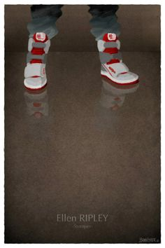Nicolas Bannister - Famous Shoes - Ellen Ripley