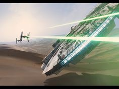 The visual effects of Star Wars: The Force Awakens