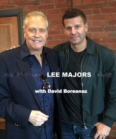 Lee Majors with son, Lee Jr. | Lee Majors in 2018 | Pinterest